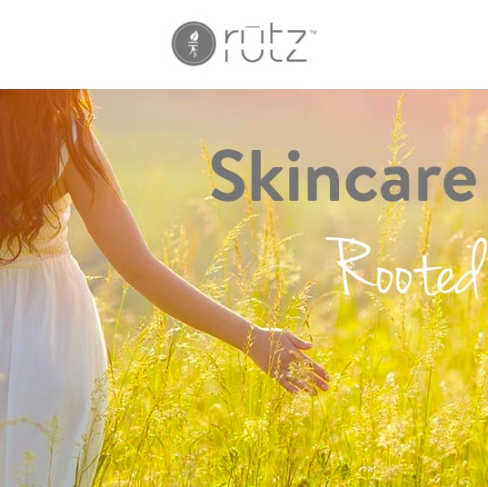 pittsburgh e-commerce webdesign - rutz skincare