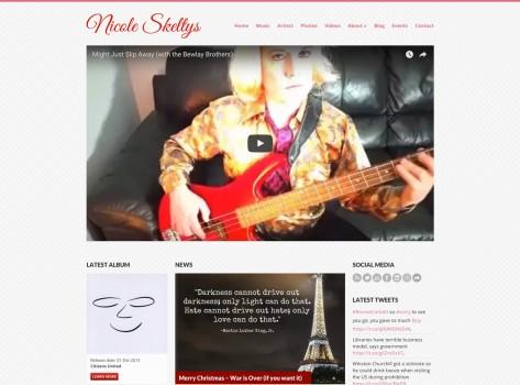 Portfolio - Nicole Skeltys Web Design