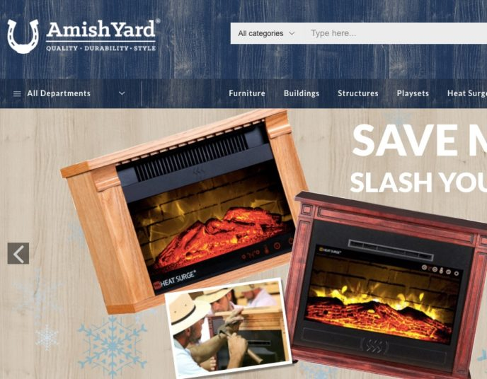 Amish Yard - Pittsburgh ecommerce design